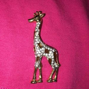 Vintage Roman Giraffe brooch